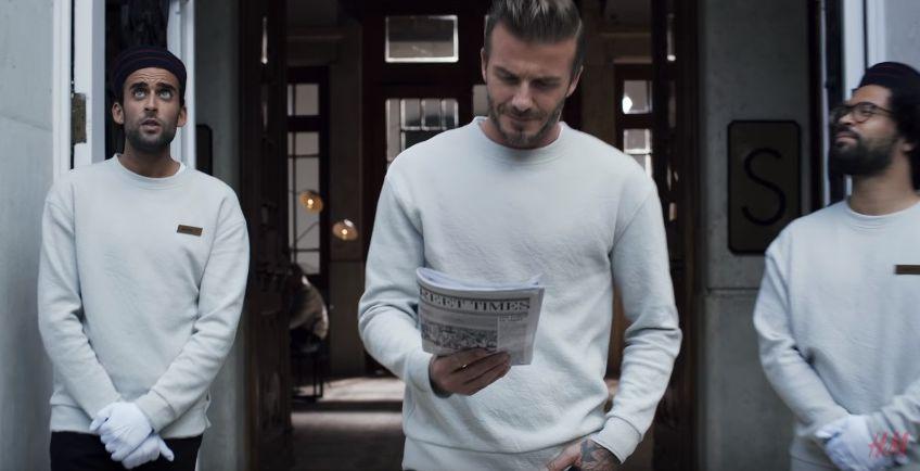 Неподражаемый Дэвид Бекхэм снялcя в стильном ролике для H&M
