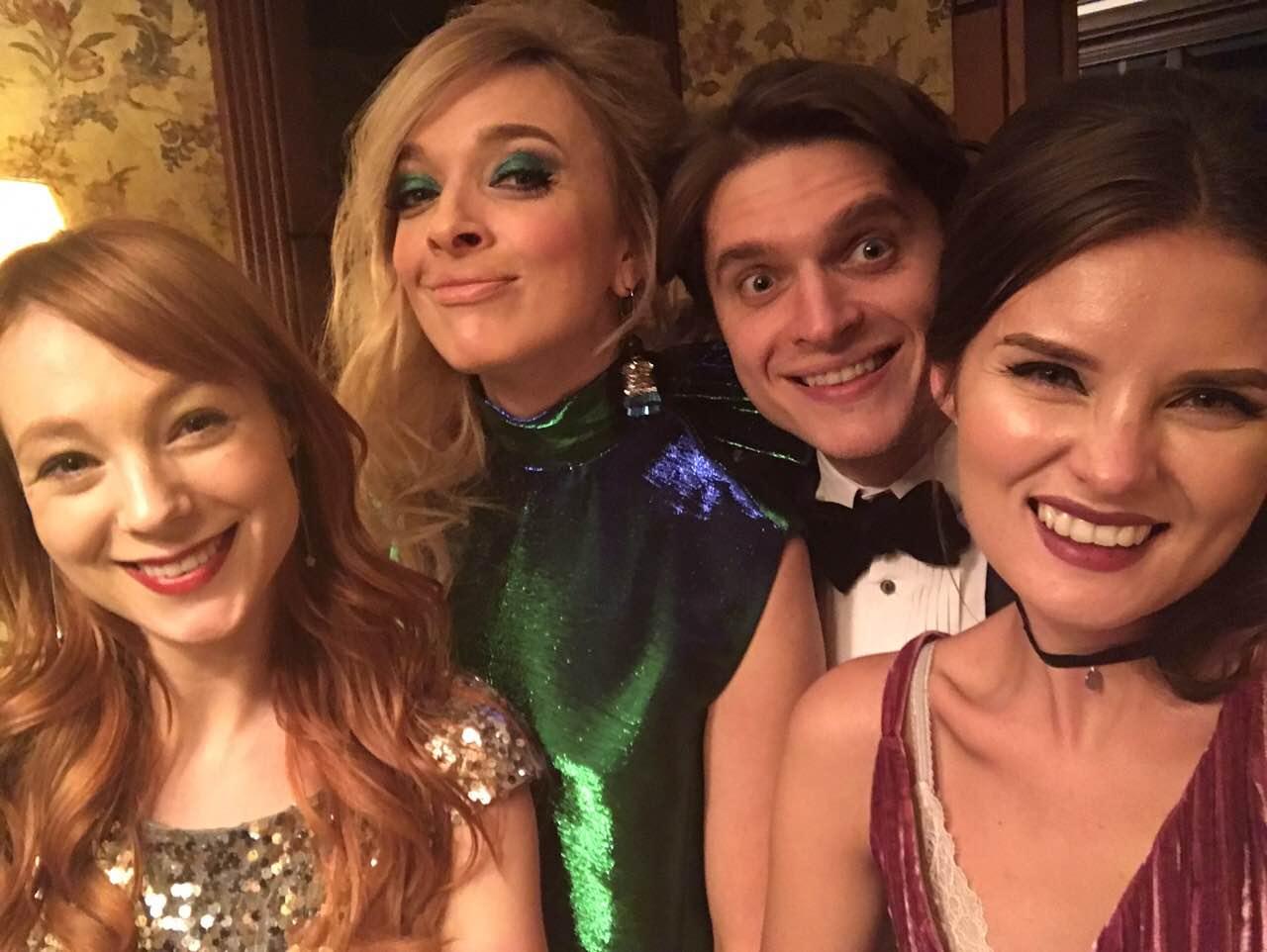 Как украинские звезды встретили 2017 год