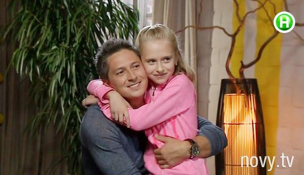 Александр Педан и его дочь Лера