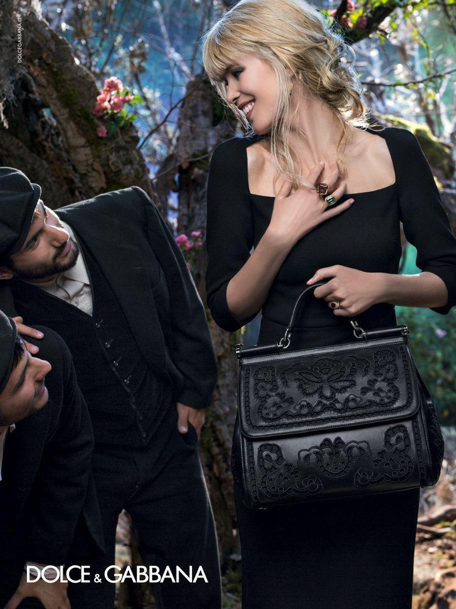 Клаудия Шиффер в рекламе Dolce & Gabbana