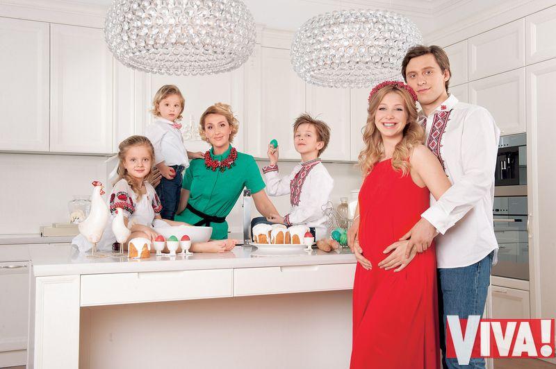 Снежана Егорова и ее дети