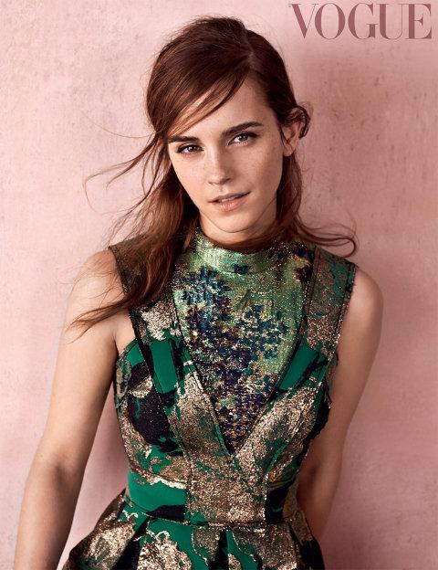 Элегантная Эмма Уотсон блистает на обложке Vogue