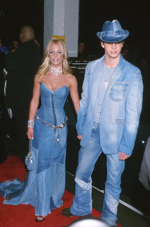 Кэти Перри покорила платьем в стиле Бритни Спирс