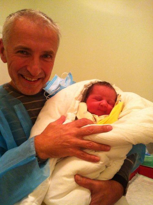 Анатолий Ерема стал дедушкой