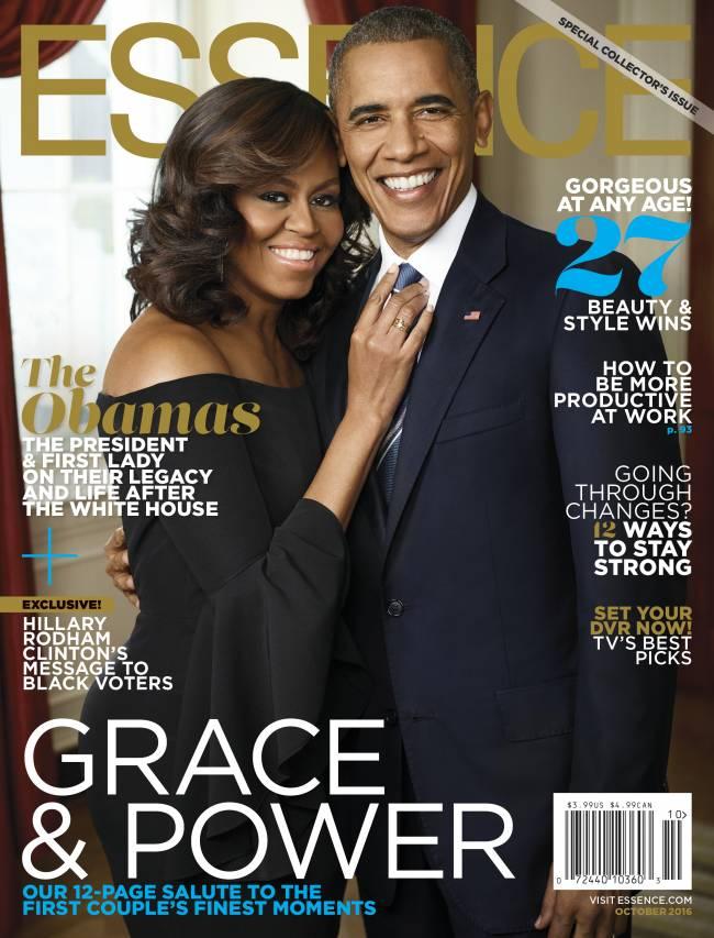 Это любовь: Мишель и Барак Обама блистают в романтической фотосессии