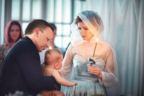 Мария Кожевникова крестила второго сына