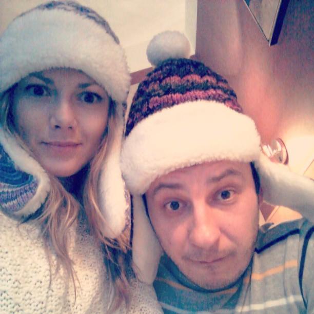 Дмитрий Танкович и его жена Ольга Рыбка