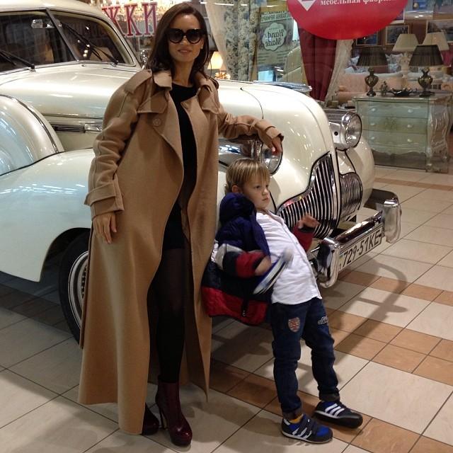 Татьяна Денисова фото сын