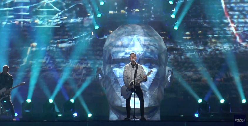 Видео: первая репетиция группы O.Torvald на сцене Евровидения-2017