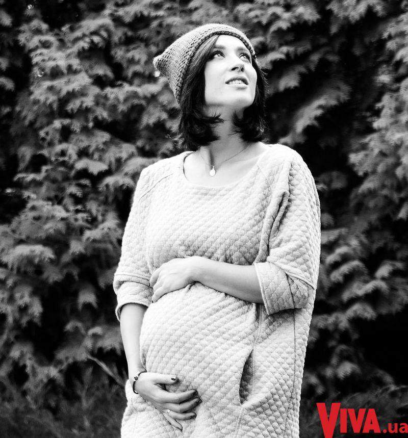 Анна Завальская беременная