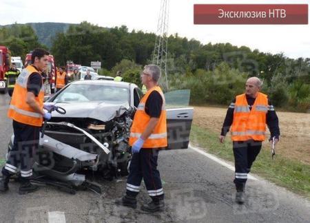 Андрей Кончаловский фото авария ДТП