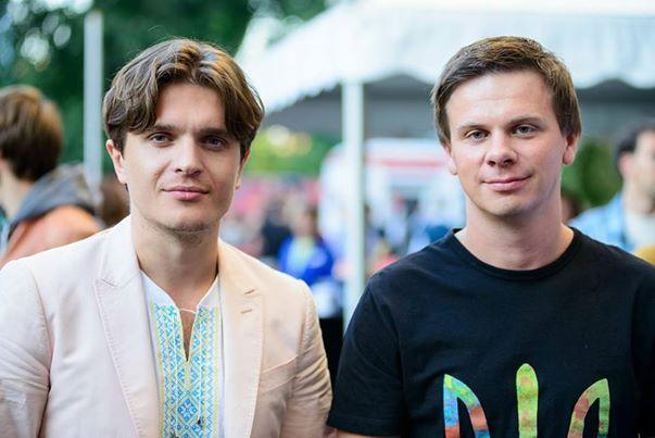 Дмитрий Комаров и Анатолий Анатолич