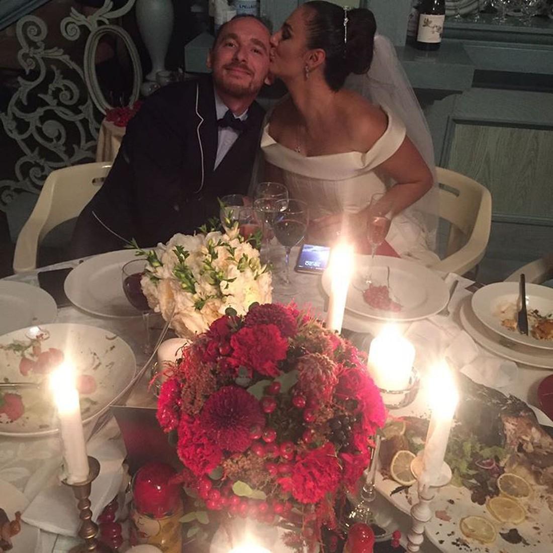 Елена Ваенга и ее муж Роман Садырбаев