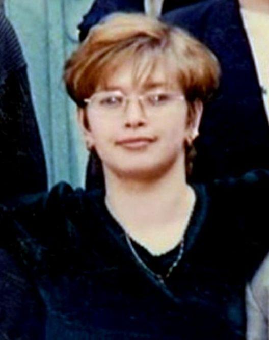 Вера Брежнева в юности (17 лет)