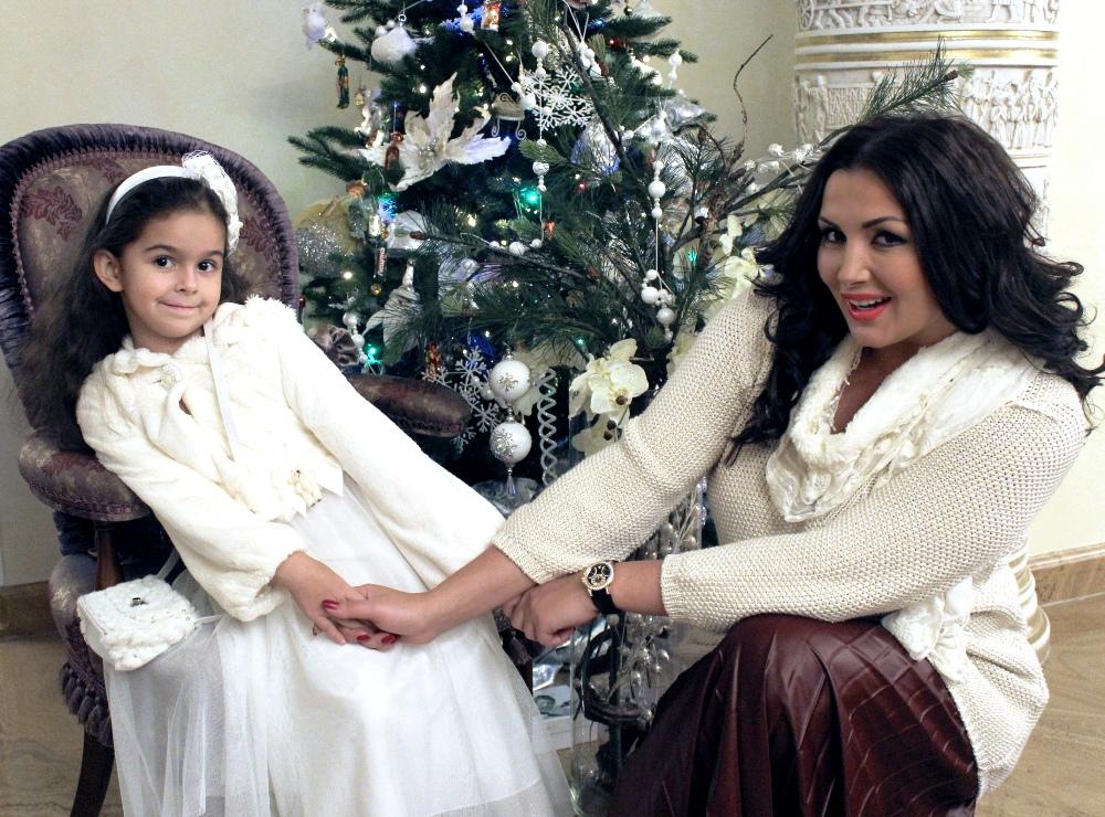 Галлина с дочерью фото