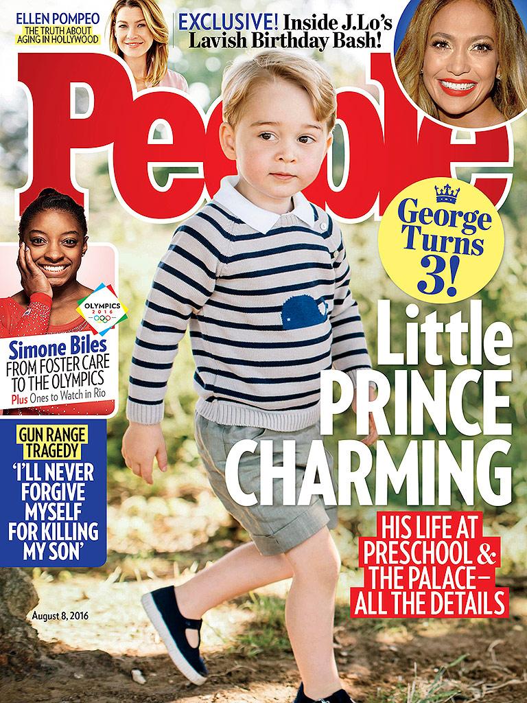 Трехлетний принц Джордж украсил обложку People