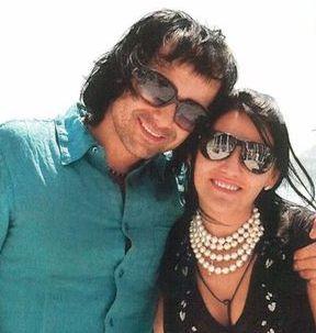 Святослав Вакарчук и его жена Ляля Фонарева