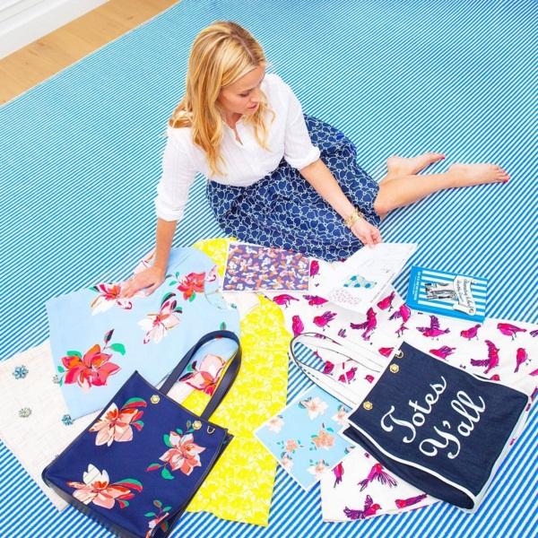 Риз Уизерспун блистает в рекламе новой коллекции собственного бренда