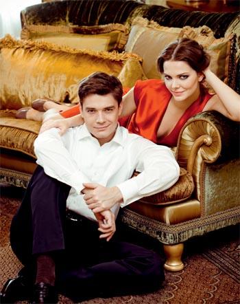 Лиза Боярская и ее муж Максим