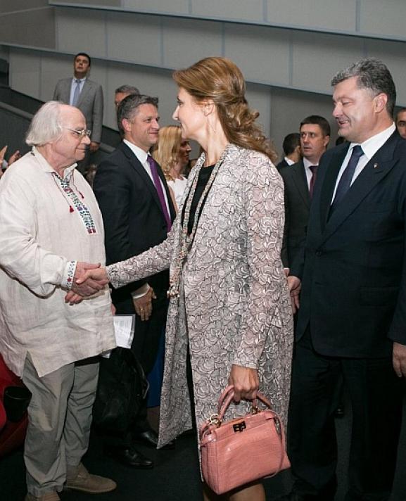 Марина Порошенко прокомментировала ситуацию с дорогостоящей сумкой