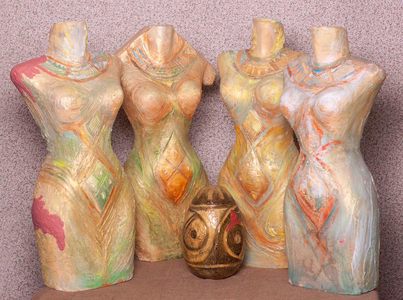 Скульптуры Татьяны Шаповаловой