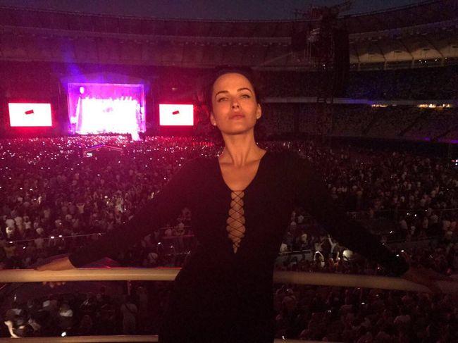 Украинские звезды на концерте Depeche Mode в Киеве