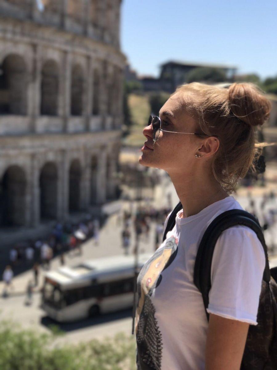 Слава Каминская отпраздновала свой День рождения в Риме
