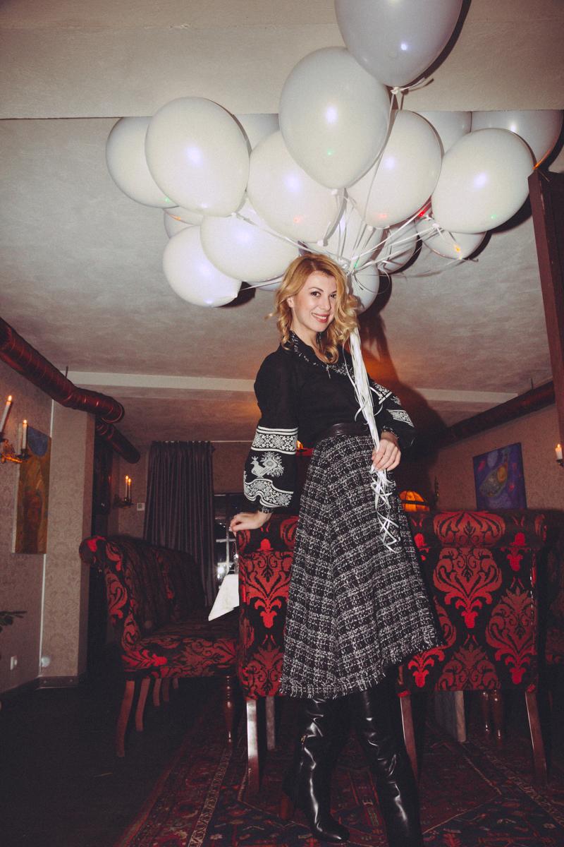 Марыся Горобец отпраздновала день рождения