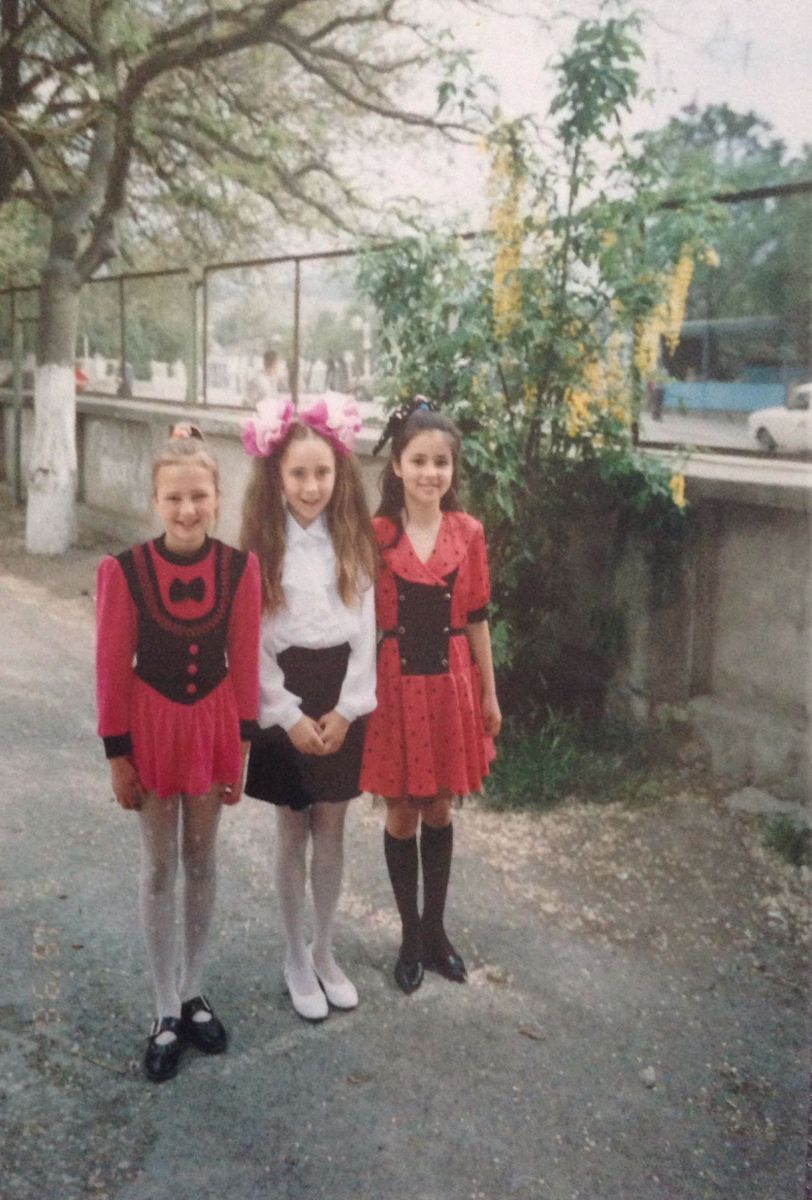 Звезды в школе. Злата Огневич в детстве