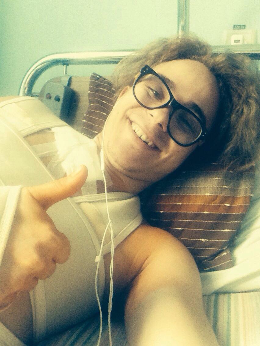 Вова Борисенко фото после операции