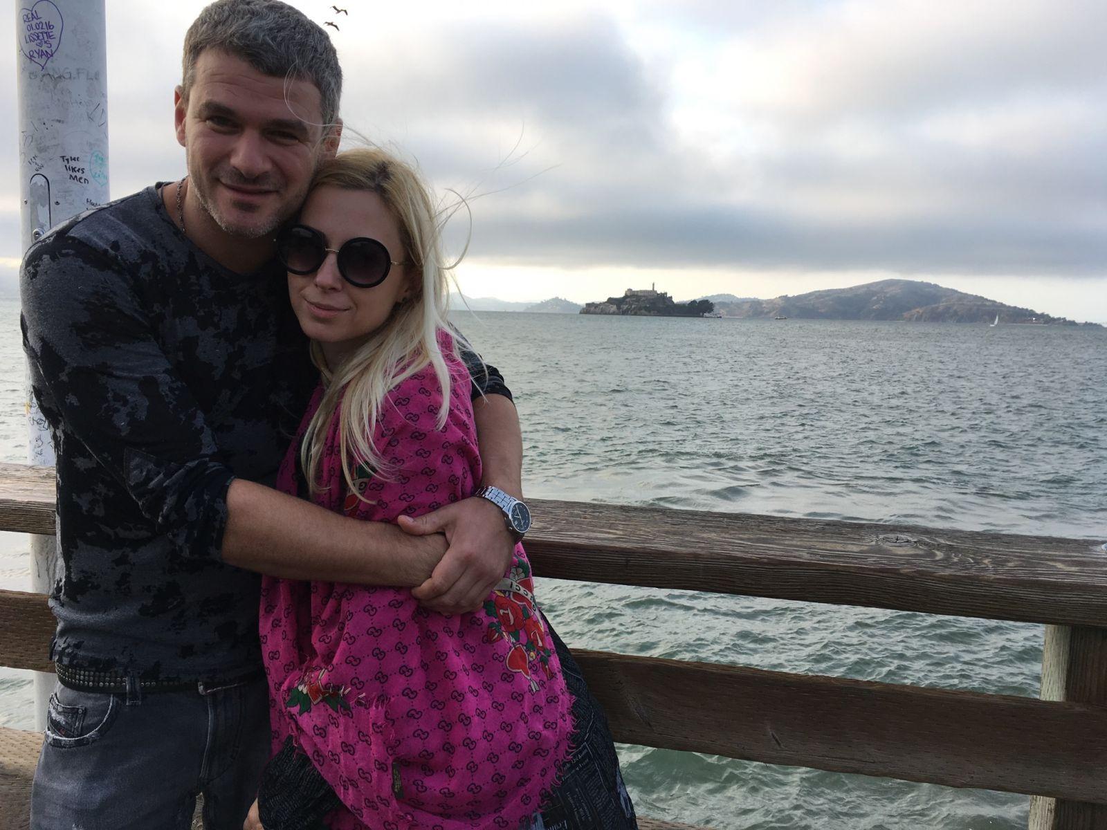 Тоня Матвиенко и Арсен Мирзоян отдыхают в Сан-Франциско
