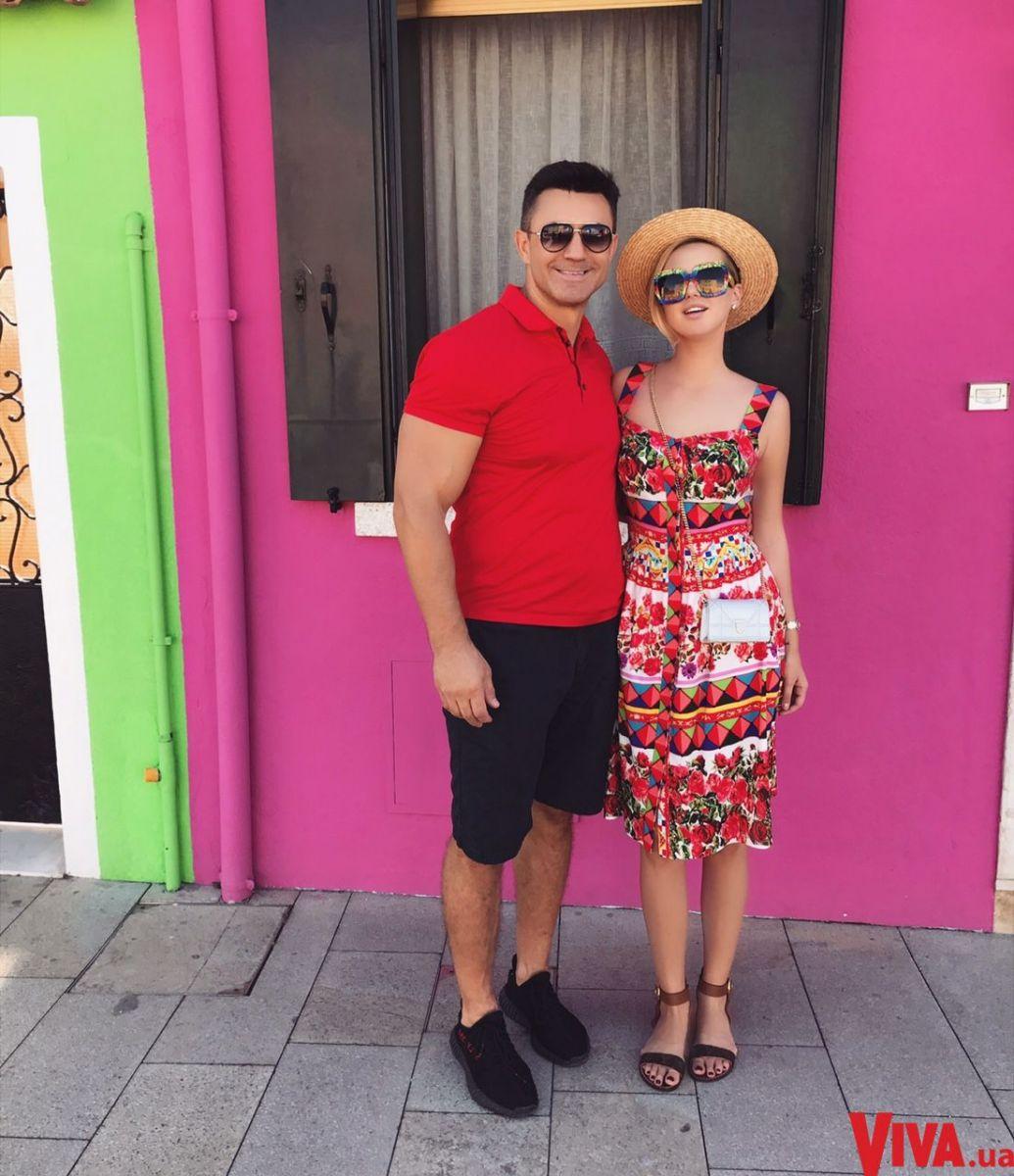 Николай Тищенко и его жена Алла Барановская на отдыхе