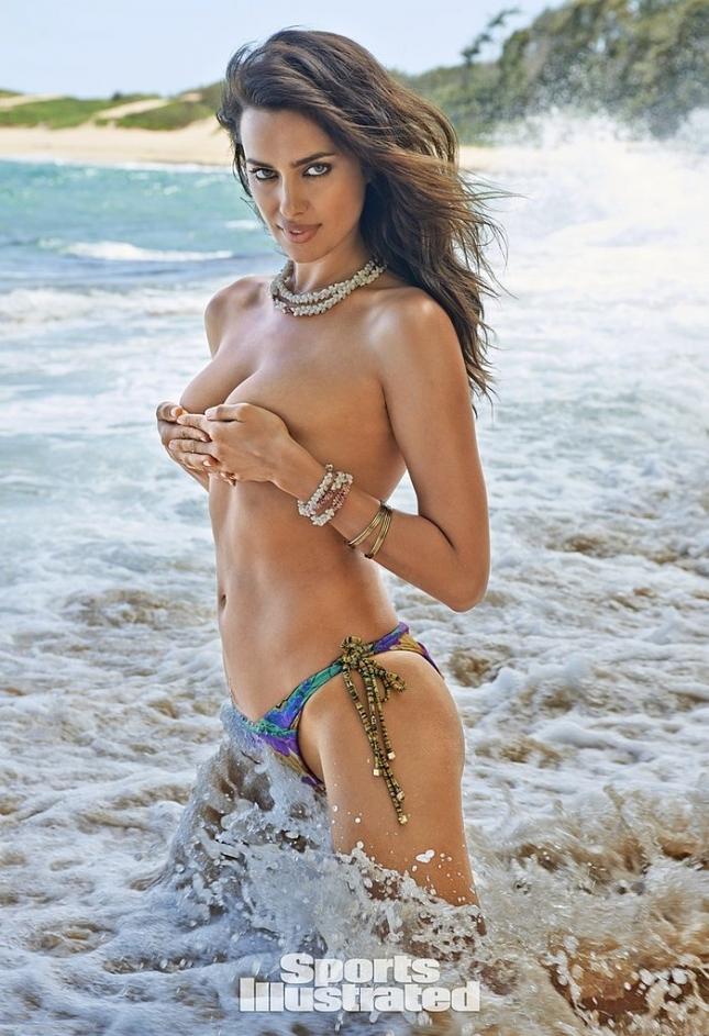 50 оттенков сексуальности: Ирина Шейк в соблазнительных бикини