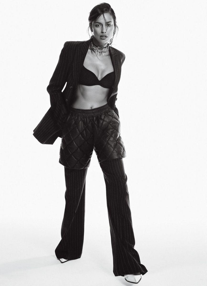Свежий взгляд: Ирина Шейк блистает в новой фотосессии для журнала Glamour