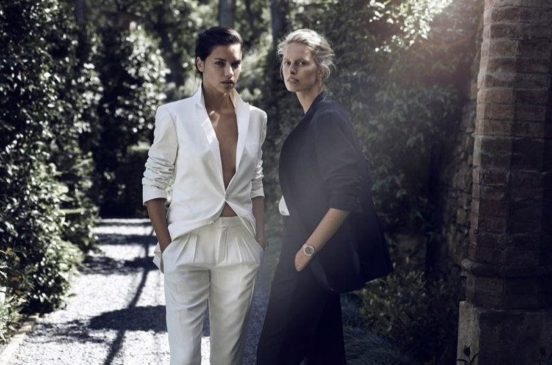 Адриана Лима и Каролина Куркова демонстрируют женский шарм