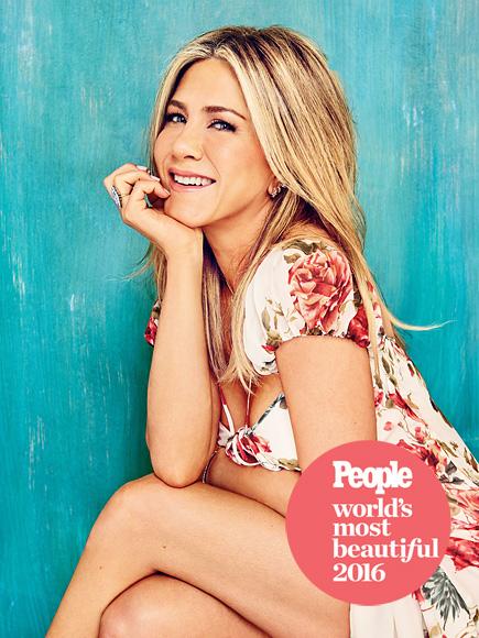 Дженнифер Энистон признана самой красивой женщиной мира по версии People