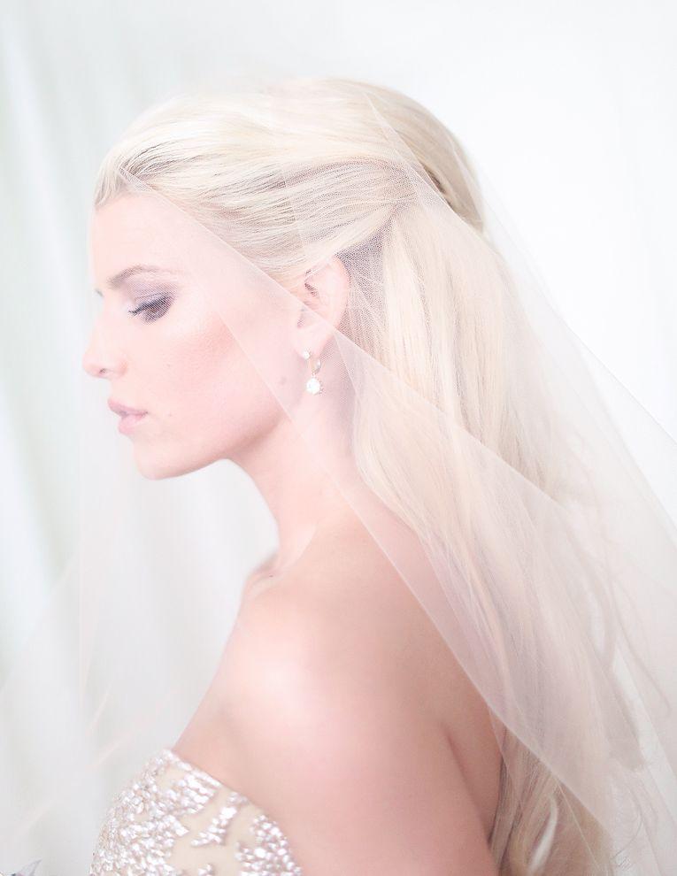 свадебное фото Джессики Симпсон