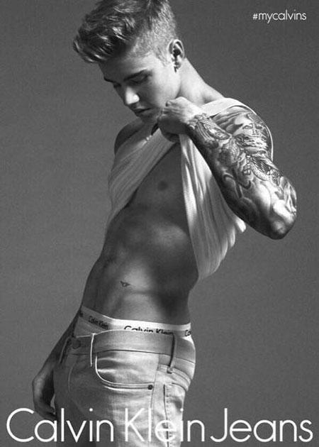 Джастин Бибер снялся в рекламе белья Calvin Klein