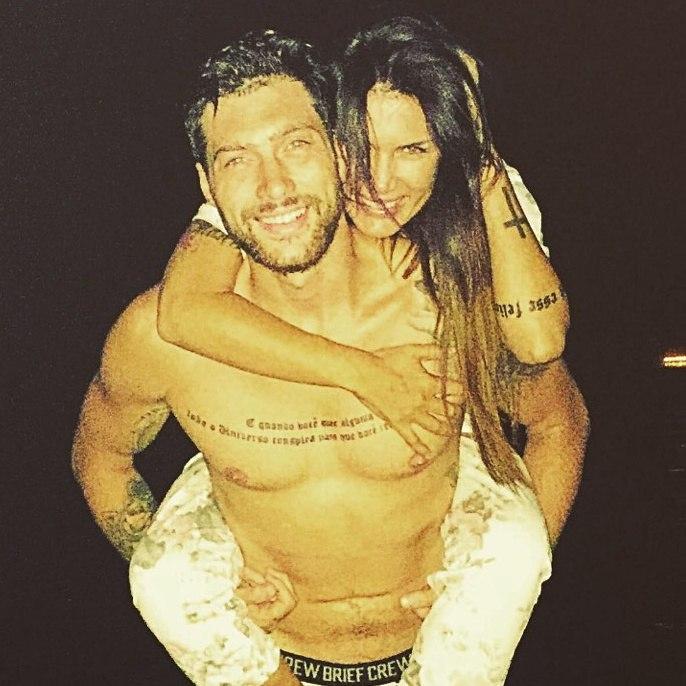 Олег Кензов и его новая девушка