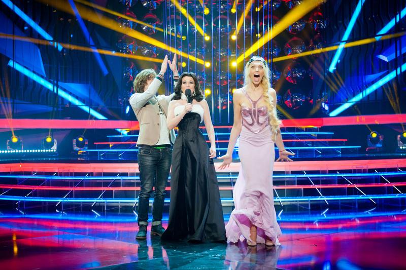 Оля Полякова платье фото 2013