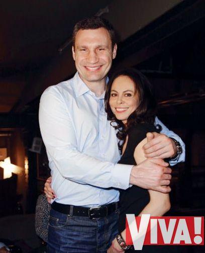 Виталий Кличко и его жена Наталья