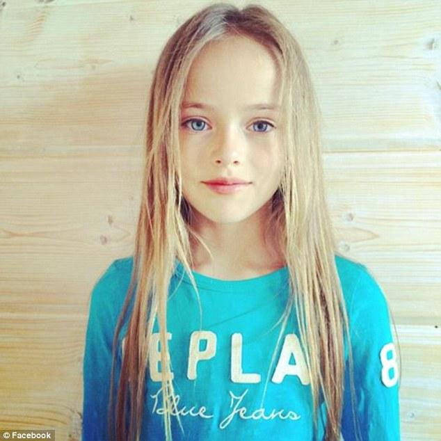 9-летняя российская модель Кристина Пименова