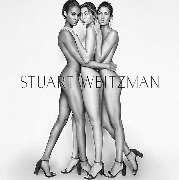 Нежный соблазн: Джиджи Хадид снялась в стильной рекламе Stuart Weitzman