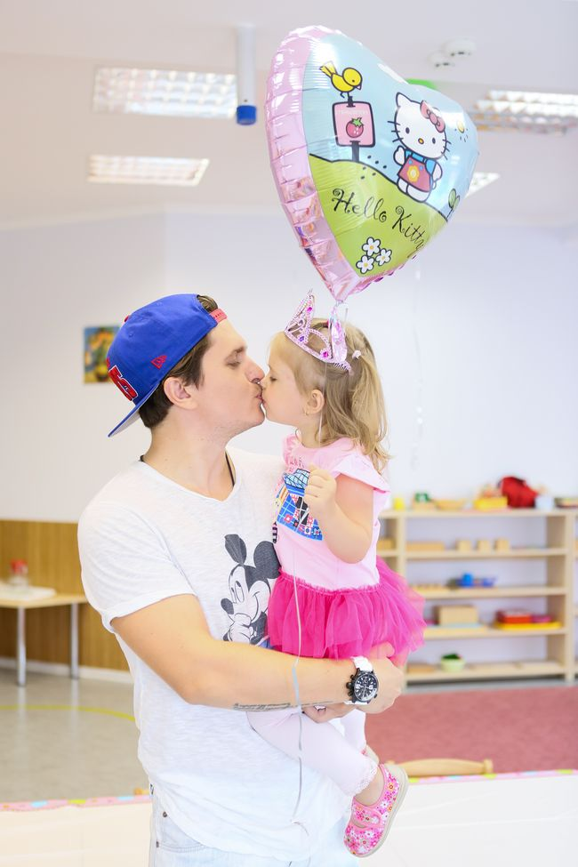 Анатолий Анатолич с дочерью