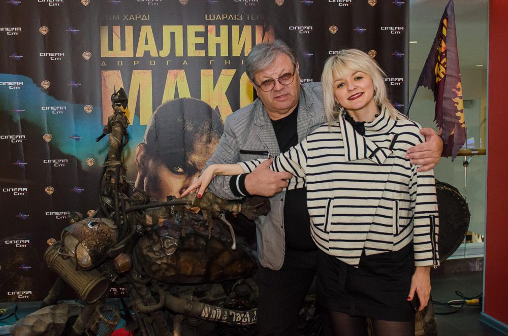 Илья Ноябрев с женой Марией