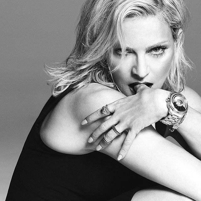 Мадонна в рекламе Versace