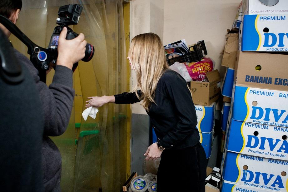 Ольга Фреймут нашла в Киеве смертельно опасные супермаркеты