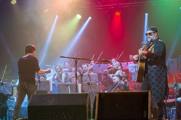 Уникальный концерт: Борис Гребенщиков и Милош Елич на одной сцене