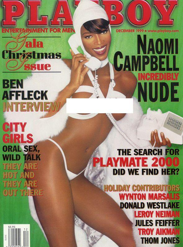 Наоми Кэмпбелл, Playboy декабрь 1999