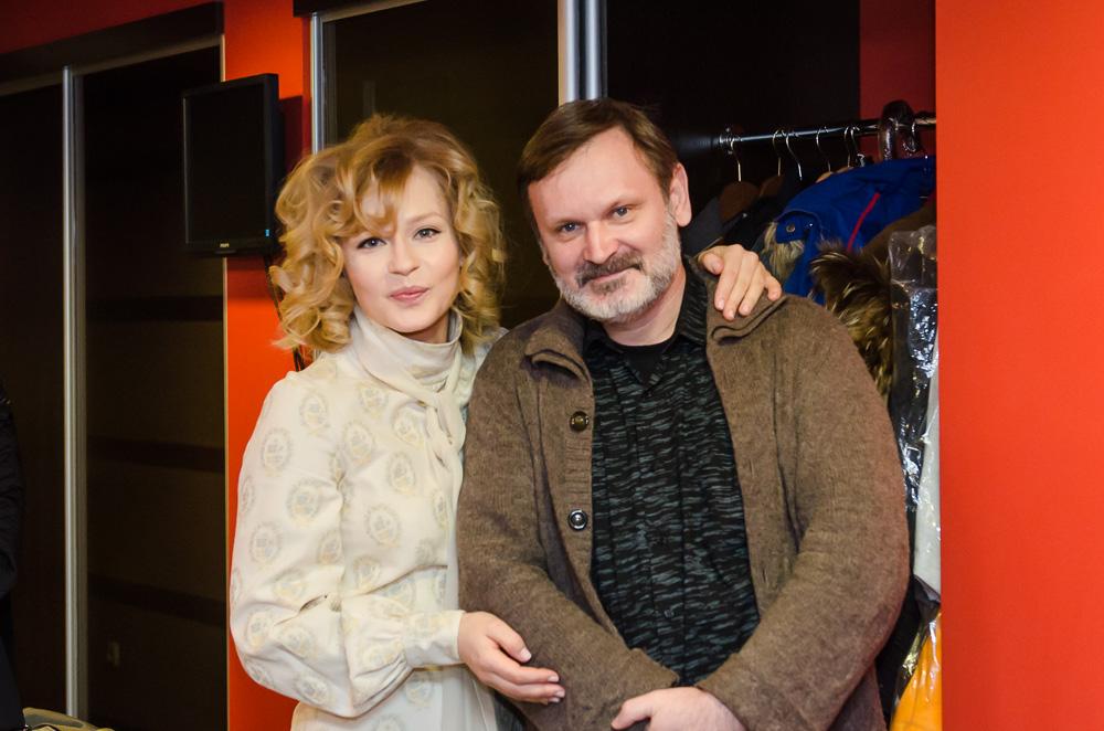 Юлия Пересильд, Сергей Мокрицкий